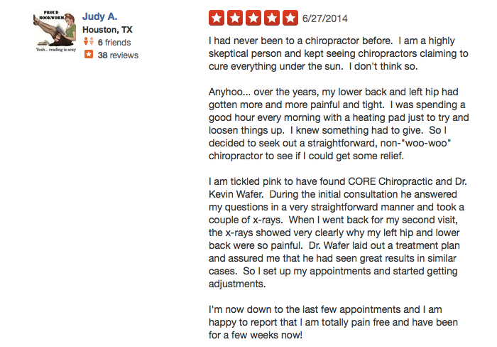 judy yelp review